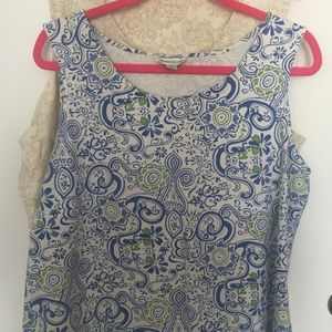 Coldwater Creek Tops - Coldwater Creek Lot of 2 Lace Design Tanks. 1X